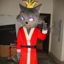 Supply Doll Doll Cartoon Costumes Performing Props Costumes Pan Red Wolf and Wolf Cartoon Clothing Mascot Costume