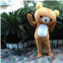 Supply Lazy Bear Cartoon Doll Clothing People Wear Adult Walking Performances Doll Dress Lovely Relaxed Bear Japan Mascot Costume
