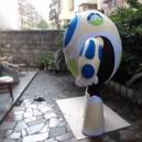 Lease Cartoon Dolls Clothing Walking Cartoon Celebration Activities Adult Performers Costumes - Robotics Mascot Costume