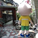Worn Clothing Doll Dolls Walking Cartoon Props Adult Male Performing Bulk Caps Mascot Costume