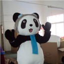 Supply Cartoon Doll Clothing Adult Modeling Service Activities Show Costumes - Kung Fu Panda Bear Mascot Costume