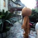 Xiong Maji Doll Clothing Cartoon Show Clothing Brown Bear Props Tony Bear Bear Doll Doll Clothes Mascot Costume