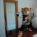 Supply Zodiac Mascot Costume Adult Cartoon Show Props Walking Dolls Doll Clothing Kung Fu Tiger