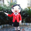 Supply Character Spokesperson Doll Clothing Cartoon Clothes Clothes Leotard People Lead Suit Mascot Costume