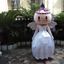 Supply Wedding Photography Cartoon Dolls Clothing Walking Props Costumes Bride Wedding Gifts Wings Elf Mascot Costume