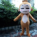 Supply Cartoon Doll Clothing Adult Costumes Walking Cartoon Show Hiphop Monkey Plush Doll Clothing Small Monkey Mascot Costume