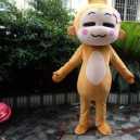 Cartoon Doll Clothing Adult Costumes Walking Cartoon Show Hiphop Monkey Plush Doll Clothing Small Monkey Mascot Costume