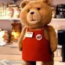 Movie Bear Doll Clothing Cartoon Doll Ted Bear Plush Doll Dress Costumes Headgear Mascot Costume