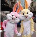 Bugs Bunny Cartoon Clothing Factory Plush Toys Dolls Walking Clothing Performances Props Mascot Costume