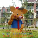 Supply Cartoon Clothing Cartoon Costumes Walking Doll Clothing Apparel Television Ads Pig Costumes Mascot Costume