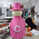 Cartoon Fashion Show Props Walking Dolls Doll Clothing Chopper Mascot Costume
