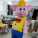 Supply Factory Wholesale Price Cartoon Clothing Festive Supplies Pig Dolls Animation Around Mascot Costume