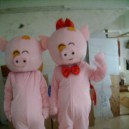 Supply Good Rijeka Through Clothing Festive Supplies Business Performance Walking Doll Pig Animal Model Mascot Costume