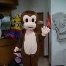 Supply Monkey Cartoon Clothing Cartoon Walking Doll Clothing Stage Performance Clothing Jumping Monkey Advertising Mascot Costume