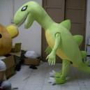 Supply Adult Clothing Walking Cartoon Cartoon Show Clothing Dinosaur Dinosaur Activity Mascot Costume