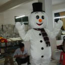 Supply Adult Walking Cartoon Clothing Performance Clothing Snowman Snowman Christmas Events Mascot Costume