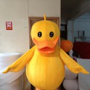 Supply Big Yellow Duck Mascot Costume Cartoon Animation Cartoon Dolls Walking Cartoon Dolls Festival Performances Propaganda