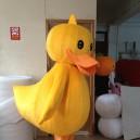 Big Yellow Duck Mascot Costume Cartoon Animation Cartoon Dolls Walking Cartoon Dolls Festival Performances Propaganda