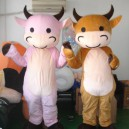 Supply Cow Cartoon Animal Costumes Cartoon Clothing Cartoon Dolls Walking Festival Performance Clothing Cow Mascot Costume