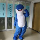 Supply Dolphin Cartoon Clothing Cartoon Walking Doll Clothing Cartoon Costumes Performing Dolphin Cartoon Clothing Mascot Costume