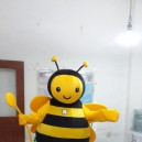 Insect Bee Cartoon Dolls Walking Cartoon Doll Clothing Propaganda Props Stage Performances Doll Animation Around Mascot Costume