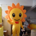 Supply Japan Sunflower Cartoon Clothing Cartoon Doll Cartoon Costumes Stage Performance Props Sunflowers Mascot Costume