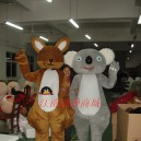 Supply Kangaroo Kangaroo Adult Koala Cartoon Clothing Walking Cartoon Costumes Performing Kangaroo Koala Mascot Costume