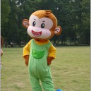 Supply Monkey Cartoon Clothing Cartoon Dolls Walking Cartoon Costumes Stage Performance Clothing Props Cute Monkey Mascot Costume