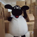 Sheep Mascot Cartoon Costumes Belly Sheep Shaun The Sheep Zodiac Sheep Film and Television Animation Props Mascot Costume