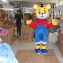 Supply Television Cartoon Tiger Tigger Costume Anli Hu Golden Tiger Wang Gongfu Tiger Animation Clothing Mascot Costume