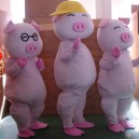 The Japanese Cartoon Pig Mcdull Pig Adult Clothing Performance Clothing Mcdull Pig Walking Mascot Costume