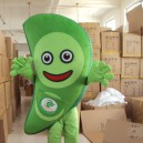 Supply Vegetable Soybeans Dolls Walking Cartoon Mascot Apparel Stage Performance Clothing Costumes Peas Mascot Costume