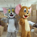 Supply Animation Film and Television Cartoon Cat Celebration Activities Mouse Geely Clothing Doll Clothing Tom and Jerry Mascot Costume