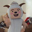 Supply Film and Television Animation Cartoon Costume Props Radiant Lazy Slow Warm Goat in Goat Mascot Costume