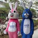 Mascot Bunny Cartoon Doll Clothing Cartoon Walking Doll Clothing Cartoon Show Clothing Advertising Mascot Costume