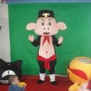 Supply Pig Cartoon Dolls Walking Cartoon Doll Clothing Cartoon Dolls Dress Costumes Mascot Costume