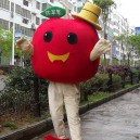 Supply Red Apple Cartoon Doll Clothing Cartoon Walking Doll Clothing Cartoon Show Clothing Cartoon Fruit Doll Clothes Mascot Costume