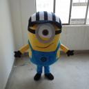 Supply Small Yellow Man Cartoon Doll Clothing Apparel Despicable Me Despicable Me Doll Clothes Factory Activity Mascot Costume