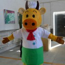 Animal Cartoon Cow Mascot Cartoon Walking Doll Clothing Doll Clothing Cartoon Show Clothing Doll Clothes Mascot Costume