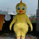 Supply Cartoon Doll Clothing Cartoon Walking Doll Clothing Cartoon Show Clothing Plush Doll Doll Small Yellow Chicken Suit Mascot Costume