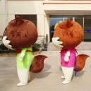Cartoon Doll Clothing Doll Clothing Three Squirrels Corporate Mascot Performance Clothing Performances Props Activities Mascot Costume