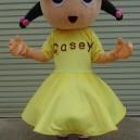 Cartoon Doll Clothing Girl Adult Fashion Show Props Walking Dolls Mascot Mascot Costume