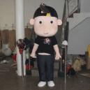 Supply Cartoon Doll Clothing Walking Doll Cartoon Costumes Cartoon Clothing Doll Dolls Black Kid Mascot Costume
