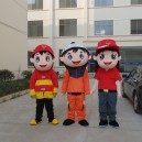 Supply Fire Safety and Security Activities of Advertising Mascot Costume Mascot Costumes Cartoon Doll Clothing