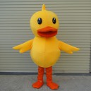 Supply Yellow Duck Cartoon Dolls Clothing Dolls Doll Clothes Dress Performance Props Adult Mascot Mascot Costume