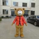 Bear Adult Cartoon Show Clothing Dress Performance Props Dress Up Doll Clothes Doll Dolls Bear Walk Mascot Costume