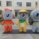 Cartoon Doll Clothing Doll Clothing Cartoon Walking Doll Cartoon Props Corporate Mascot Dolls Mascot Costume
