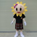 Supply Doll Clothing Doll Clothing Cartoon Sunflower Adult Costumes Walking Unlucky Activities Performed Doll Mascot Costume