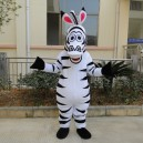 Supply Zodiac Horse Mascot Costume Adult Zebra Cartoon Dolls Walking Cartoon Animal Show Events
