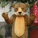 Cartoon Doll Clothing Cartoon Walking Doll Cartoon Clothing Cartoon Show Clothing Doll Dress Leopard Mascot Costume